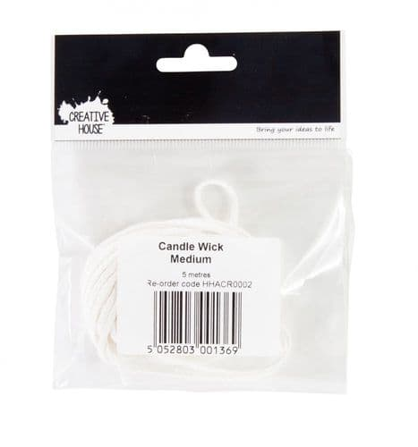 Candle Wicks Medium 5 metres